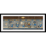 Fallout Special - 30 x 12 Inches Framed Photograph