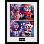 Five Nights at Freddy's Sister Location Quad - 16 x 12 Inches Framed Photograph