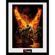 Gears of War 4 Gears 1 - 16 x 12 Inches Framed Photograph