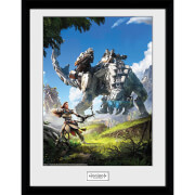 Horizon Zero Dawn Key Art - 16 x 12 Inches Framed Photograph