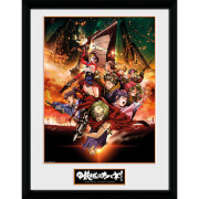 Kabaneri of the Iron Fortress Collage - 16 x 12 Inches Framed Photograph