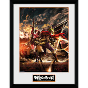 Kabaneri of the Iron Fortress Ikoma and Mum - 16 x 12 Inches Framed Photograph