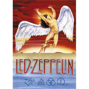 Led Zeppelin Swan Song - 61 x 91.5cm Maxi Poster