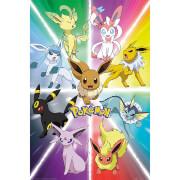 Pokémon Eevee Evolution - 61 x 91.5cm Maxi Poster