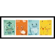 Pokémon Kanto Partners - 30 x 12 Inches Framed Photograph