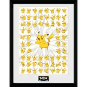 Pokémon Pikachu 1 - 16 x 12 Inches Framed Photograph
