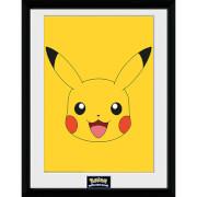 Pokémon Pikachu 2 - 16 x 12 Inches Framed Photograph