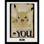 Pokémon Pikachu Needs You - 16 x 12 Inches Framed Photograph