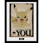 Pokémon Pikachu Needs You - 16 x 12 Inches Framed Photograph