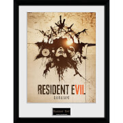 Resident Evil Talisman - 16 x 12 Inches Framed Photograph