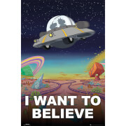 Rick and Morty I Want To Believe - 61 x 91.5cm Maxi Poster