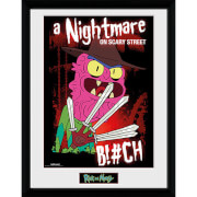 Rick and Morty Scary Terry - 16 x 12 Inches Framed Photograph