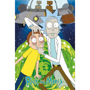 Rick and Morty Ship - 61 x 91.5cm Maxi Poster