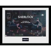 Sherlock Rising Tide - 16 x 12 Inches Framed Photograph