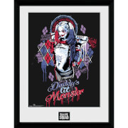 Suicide Squad Harley Quinn Monster - 16 x 12 Inches Framed Photograph
