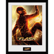The Flash Run - 16 x 12 Inches Framed Photograph
