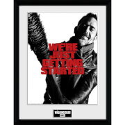 The Walking Dead Getting Started - 16 x 12 Inches Framed Photograph