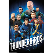 Thunderbirds Are Go Collage 1 - 61 x 91.5cm Maxi Poster