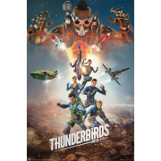 Thunderbirds Are Go Collage 2 - 61 x 91.5cm Maxi Poster