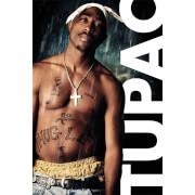 Tupac Rain Bravado - 61 x 91.5cm Maxi Poster
