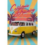 VW Camper Cali Retro - 61 x 91.5cm Maxi Poster