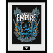 WWE Roman Reigns - 16 x 12 Inches Framed Photograph