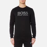 BOSS Hugo Boss Men's Large Logo Sweatshirt - Black