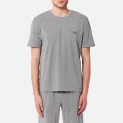BOSS Hugo Boss Men's Small Logo Crew Neck T-Shirt - Grey