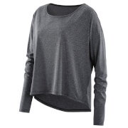 Skins Activewear Women's Pixel Long Sleeve Top - Black Marle
