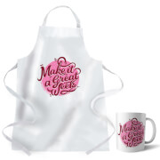 How To Cook That Make It A Great Week Apron and Mug Set