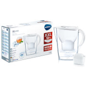 BRITA Maxtra+ Marella Chill Water Filter Jug Annual Pack with 12 Cartridges - White