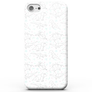 Origami Dinosaur Phone Case For Iphone