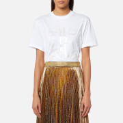 Christopher Kane Women's Melange K T-Shirt - White - L - White