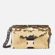 Christopher Kane Women's Classic Devine Sequins Bag - Gold