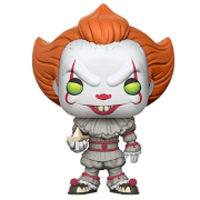 Figura Pop! Vinyl Pennywise, el payaso (con Chase) - IT