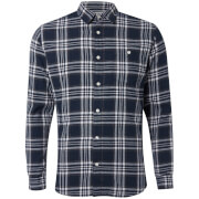 Jack & Jones Men's Originals New Christopher Long Sleeve Shirt - Total Eclipse