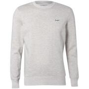 Jack & Jones Originals Men's Nepped Logo Sweatshirt - Light Grey Marl