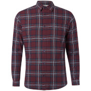 Jack & Jones Originals Men's New Christopher Long Sleeve Shirt - Sassafras