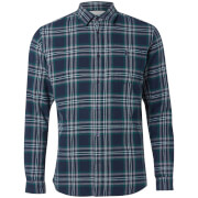 Jack & Jones Men's Originals New Christopher Long Sleeve Shirt - Pondersa Pine