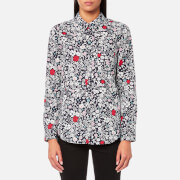 Joules Women's Lucie Classic Fit Shirt - French Navy Ria Ditsy
