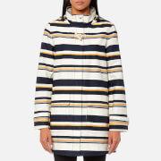 Joules Women's Haven Waterproof Hooded Jacket - Multi Stripe
