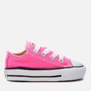 Converse Toddlers' Chuck Taylor All Star Ox Trainers - Pink Pow