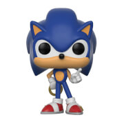 Figura Pop! Vinyl Sonic con anillo - Sonic The Hedgehog