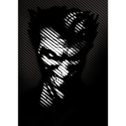 Affiche en Métal DC Comics Batman Noir Joker (32 x 45cm)