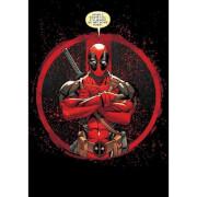 Marvel Comics Metal Poster - Deadpool Evening Plans (32 x 45cm)