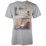 Camiseta Native Shore California Custom Surf - Hombre - Gris claro