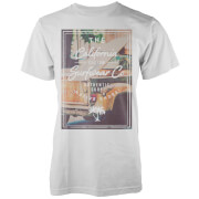 Camiseta Native Shore California Custom Surf - Hombre - Blanco