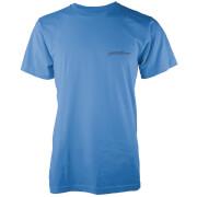 Native Shore Männer Core Logo T-Shirt - Blau