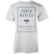 T-Shirt Homme Santa Monica LA Native Shore - Blanc
