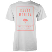 Camiseta Native Shore Santa Monica LA - Hombre - Blanco